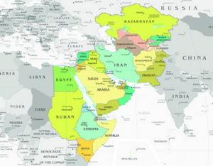 Recherche   liban carte monde